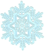 Joy Crafts - Noor Cutting & Embossing Die - Large Ice Crystal
