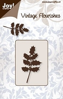 Joy Crafts - Cutting Die - Vintage Flourishes - Holly Branch
