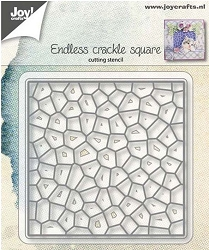 Joy Crafts - Cutting Die - Endless Crackle Square