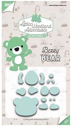 Joy Crafts - Cutting Die - Little Woodland Adventures Berry Bear