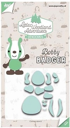 Joy Crafts - Cutting Die - Little Woodland Adventures Bobby Badger