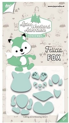 Joy Crafts - Cutting Die - Little Woodland Adventures Felicia Fox