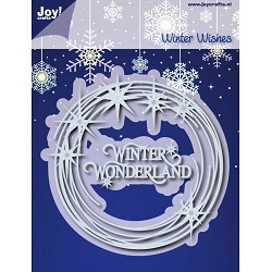 Joy Crafts - Cutting Die - Noor! Winter Wishes Star Wreath