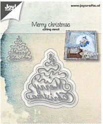 Joy Crafts - Cutting Die - Merry Christmas