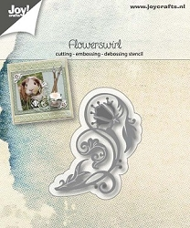 Joy Crafts - Cutting Die - Flower Swirl