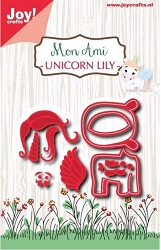 Joy Crafts - Cutting Die - Noor! Mon Ami Unicorn Lily
