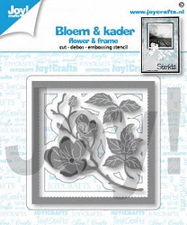 Joy Crafts - Cutting Die - Flower & Frame