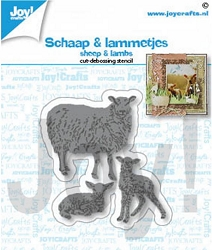 Joy Crafts - Cutting & Embossing Die - Sheep & Lambs