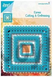 Joy Crafts - Cutting Die - Square Esmee Frame