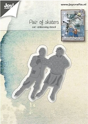 Joy Crafts - Cutting & Embossing Die - Pair of Skaters