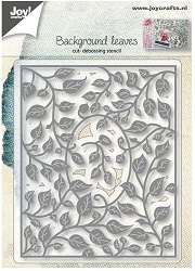 Joy Crafts - Cutting & Embossing Die - Background Leaves