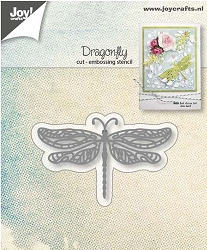 Joy Crafts - Cutting & Embossing Die - Dragonfly