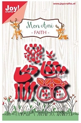 Joy Crafts - Cutting Die - Mon Ami Deer Faith