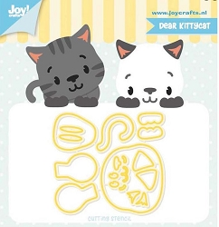 Joy Crafts - Cutting Die - Jocelijne Dear Kitty Cat