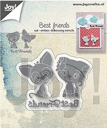 Joy Crafts - Cutting & Embossing Die - Best Friends