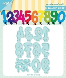 Joy Crafts - Cutting Die - Jocelijne Balloon Digits