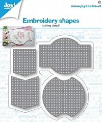 Joy Crafts - Cutting Die - Embroidery Shapes