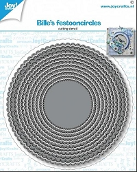 Joy Crafts - Cutting Die - Bille's Festoon Circles