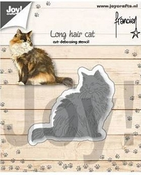 Joy Crafts - Cutting Die - Long Hair Cat