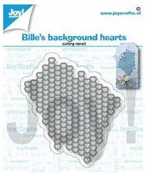 Joy Crafts - Cutting Die - Bille's Background Hearts
