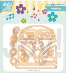 Joy Crafts - Cutting Die - Jocelijne Hippy Van