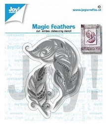 Joy Crafts - Cutting Die - Magic Feathers