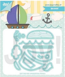 Joy Crafts - Cutting Die - Jocelijne Sail Boat