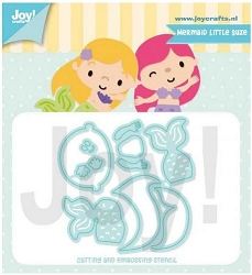 Joy Crafts - Cutting Die - Jocelijne Mermaid Little Suze