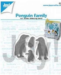 Joy Crafts - Cutting Die - Penguin Family