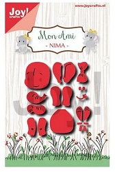 Joy Crafts - Cutting Die - Mon Ami Elephant Nima