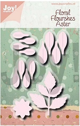 Joy Crafts - Cutting Die - Noor Floral Flourishes Aster