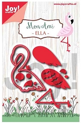 Joy Crafts - Cutting Die - Mon Ami Ella Flamingo
