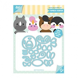 Joy Crafts - Cutting Die - Jocelijne Tumble Friends