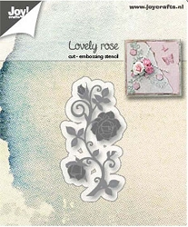Joy Crafts - Cutting & Embossing Die - Lovely Rose