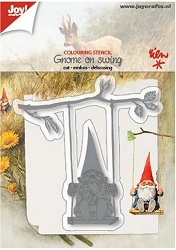 Joy Crafts - Cutting & Embossing Die - Gnome On Swing