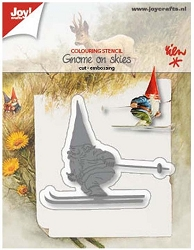 Joy Crafts - Cutting & Embossing Die - Gnome on Skis