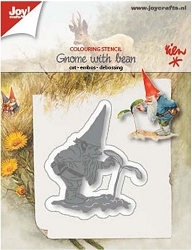 Joy Crafts - Cutting & Embossing Die - Gnome With Bean