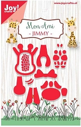 Joy Crafts - Cutting - Mon Ami Jimmy (Giraffe)