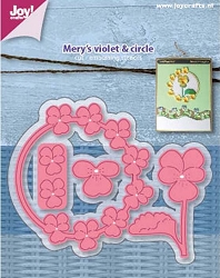Joy Crafts - Cutting Die - Mery's Violet & Circle