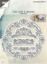 Joy Crafts - Cutting Die - Didi circle and elements