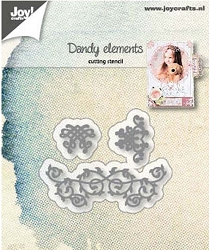 Joy Crafts - Cutting Die - Dandy elements