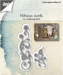 Joy Crafts - Cutting Die - Hibiscus Swirls
