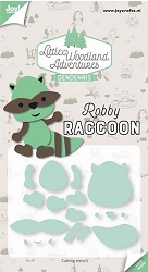 Joy Crafts - Cutting Die - Little Woodland Adventures Robby Raccoon
