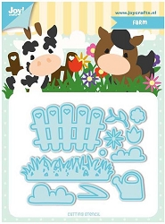 Joy Crafts - Cutting Die - Jocelijne Farm