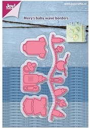 Joy Crafts - Cutting Die - Mery's Baby Wave Borders
