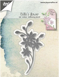 Joy Crafts - Cutting & Embossing Die - Bille's Flower