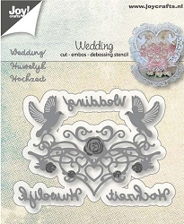 Joy Crafts - Cutting & Embossing Die - Wedding