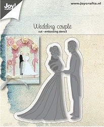 Joy Crafts - Cutting & Embossing Die - Wedding Couple