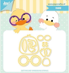 Joy Crafts - Cutting & Embossing Die - Jocelijne Ruby