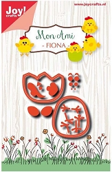 Joy Crafts - Cutting Die - Mon Ami Chicken Fiona